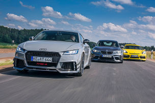 Abt TT RS-R/AC Schnitzer ACS2 Sport/Techart Cayman S: Test