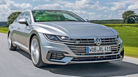 VW Arteon R-Line: Test