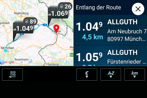 Connected Car: VW und clever-tanken.de