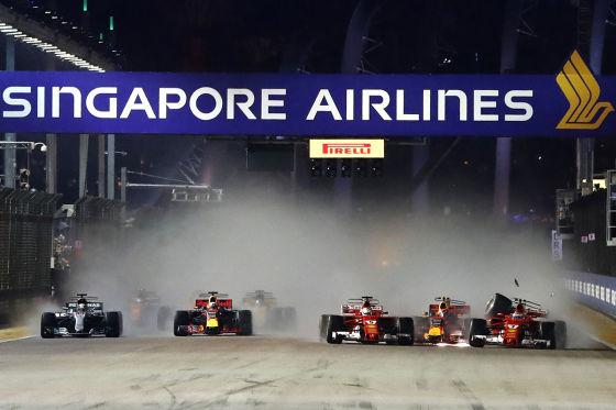 Vettel, Räikkönen, Verstappen
