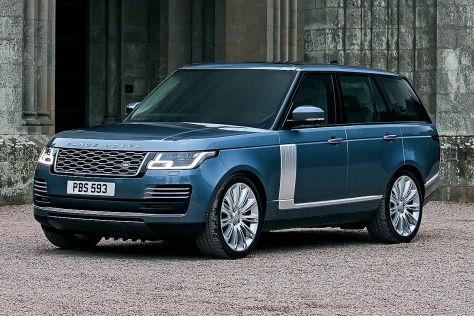 Range Rover Facelift (2017): Vorstellung