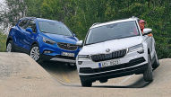 Opel Mokka X/Skoda Karoq: Test