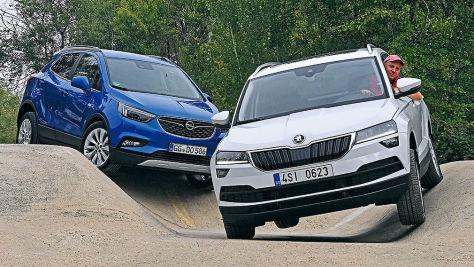 Opel Mokka X/Skoda Koraq: Test