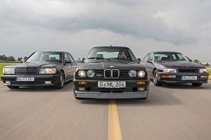 Schnelle Sport-Limousinen im Vergleich