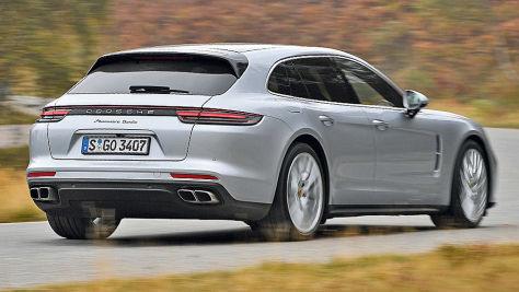 Porsche Panamera Sport Turismo: Test