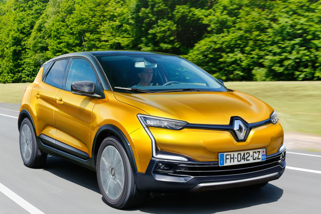 video renault captur  autobildde
