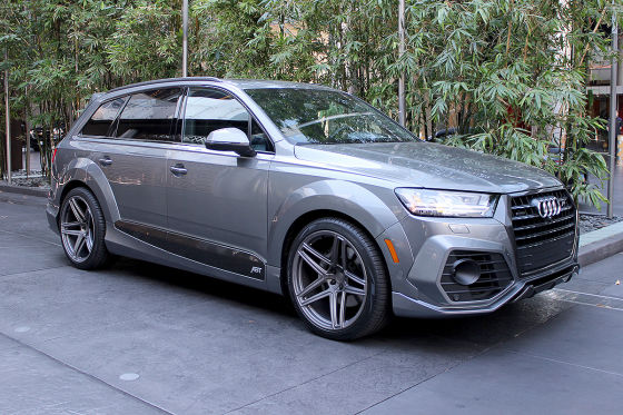 audi q7 abt vossen 1 of 10 2017 test. Black Bedroom Furniture Sets. Home Design Ideas