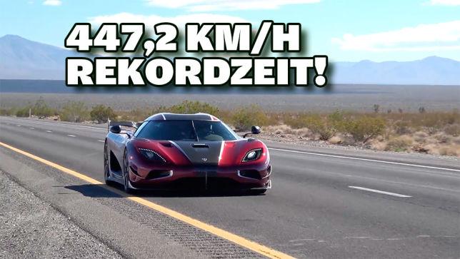 schnellster Seriensportwagen