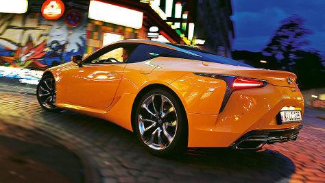 Lexus LC 500: V8-Sauger im Test