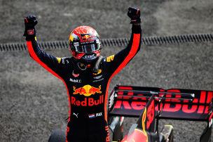 Verstappen gewinnt 3. Grand Prix