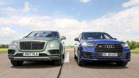 Audi SQ7 TDI/Bentley Bentayga Diesel: Test