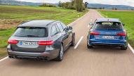 Audi RS 6 Avant/Mercedes-AMG E 63 S T-Modell: Test