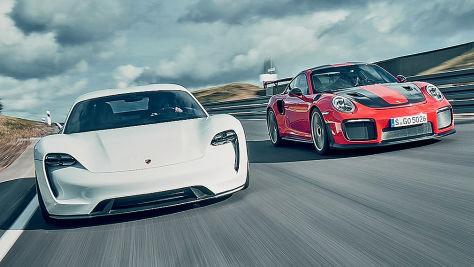 Porsche 911 GT 2 RS/Porsche Mission E: Test