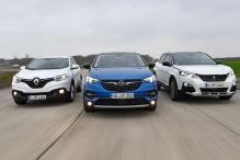 Opel Grandland X/Peugeot 3008/Renault Kadjar: Test