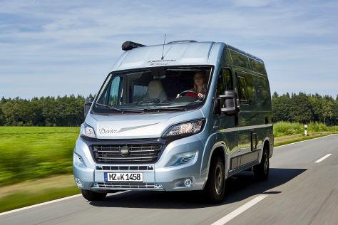 karmann 540 trend wohnmobil test. Black Bedroom Furniture Sets. Home Design Ideas