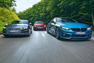 Audi S5/BMW 440i/Mercedes-AMG C 43: Test