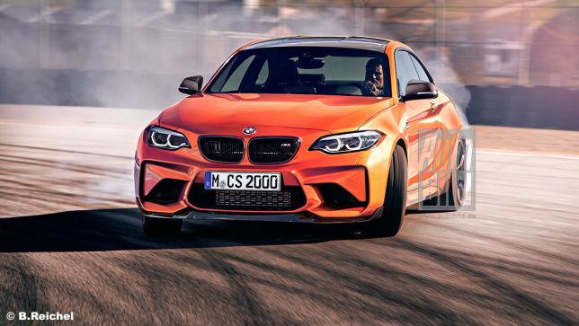 BMW M2 CS mit M4-Motor