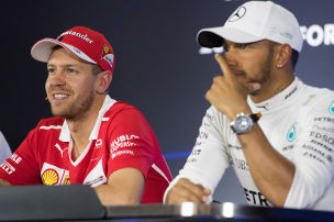 Vettel nimmt sich auf die Schippe