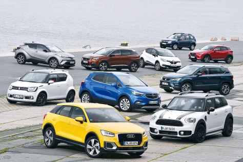 Kaufberatung kleine SUVs