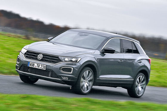 kleine suvs im test vw t roc gegen audi q2 und hyundai kona. Black Bedroom Furniture Sets. Home Design Ideas