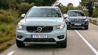 BMW X1/Volvo XC40: Test