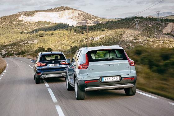 BMW X1 Volvo XC40
