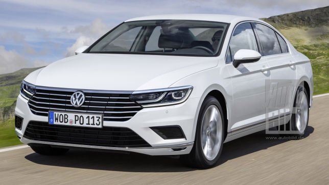 Video Vw Passat 2018 Autobild De