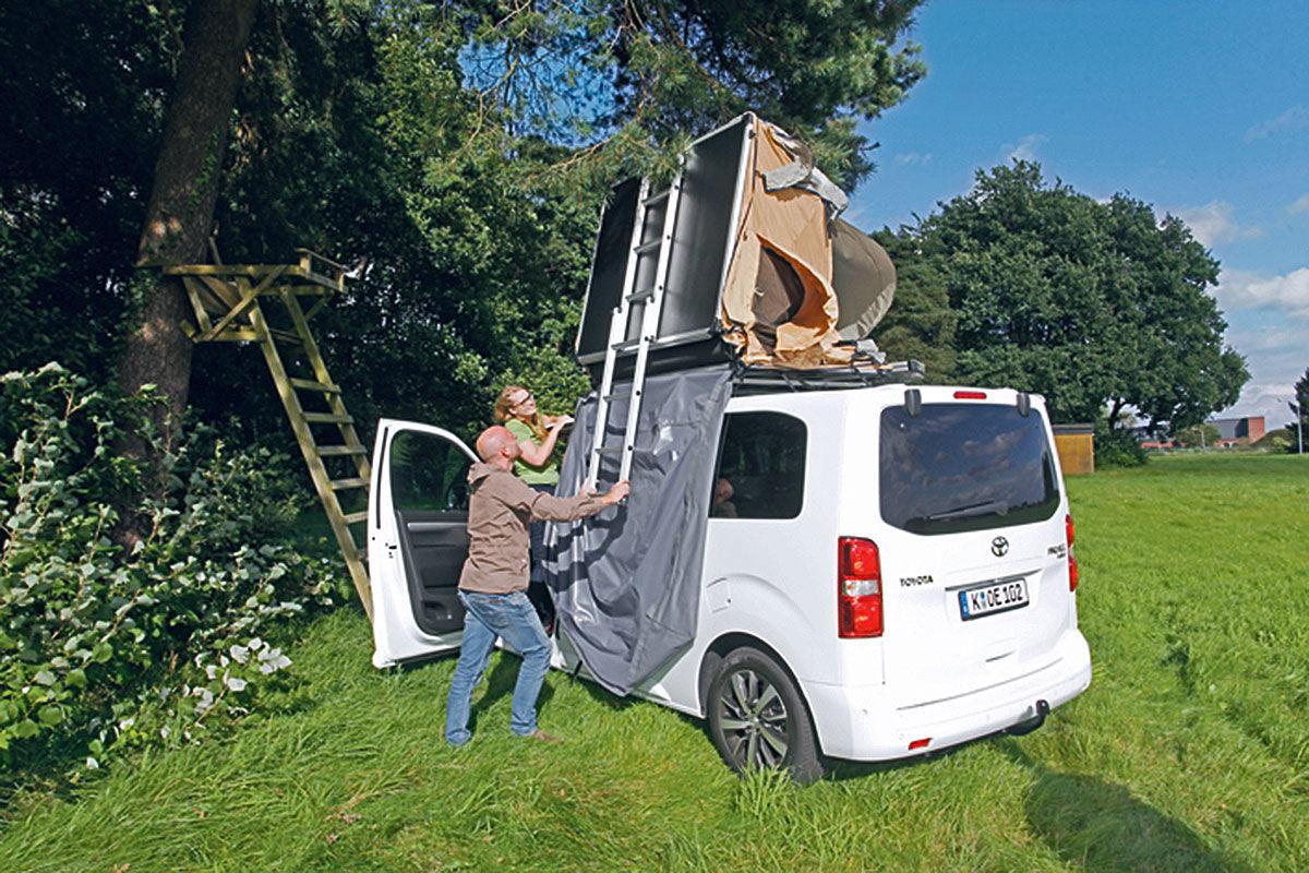 Wohnmobil Test Toyota Proace Verso Camper Bilder