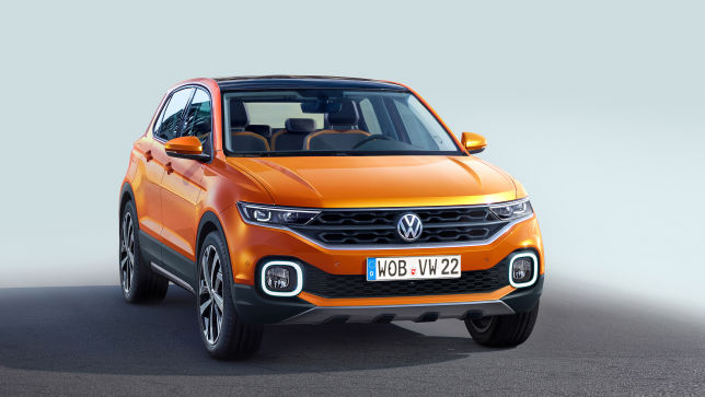Video Vw T Cross 2018 Autobild De