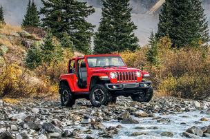 Jeep JL Wrangler Rubicon: Test