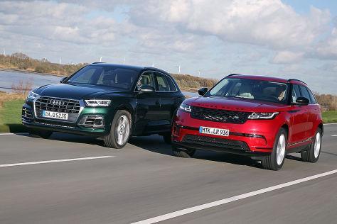 Audi Q5 Range Rover Velar