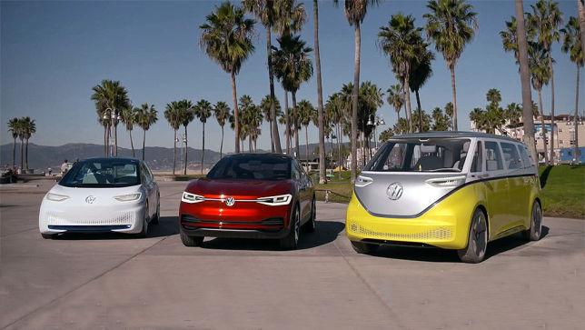 Fahrbericht VW-Elektro-Familie