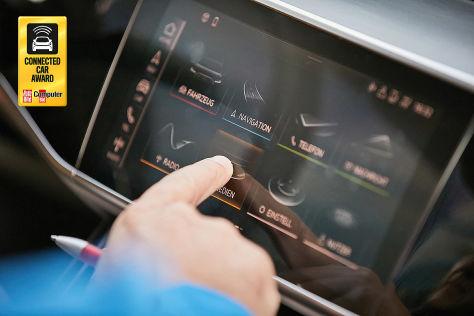 Hier klickt es. Das Touchpad im neuen Audi A8 gibt haptische Rückmeldungen.