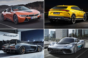 Die teuersten Autos 2018