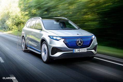 Mercedes EQGLS (2022): Vorschau