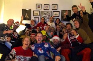 So feierten die F1-Stars Weihnachten