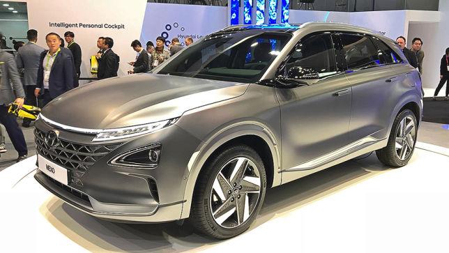 Brennstoffzellen-SUV