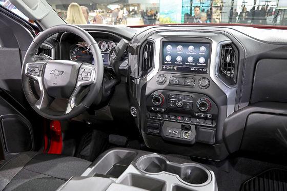 Chevy Pick-up kann auch Luxus!
