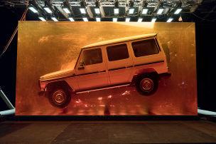 Mercedes konserviert den G