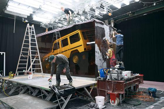 Messe-Hingucker: Mercedes konserviert die G-Klasse
