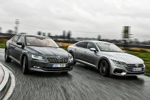 Skoda Superb/VW Arteon: Test