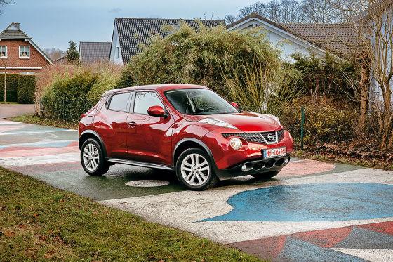 Nissan juke gebrauchtwagen test for Nissan juke dauertest