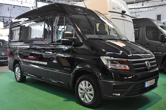 vw crafter umbau schwabenmobil florida tango infos und. Black Bedroom Furniture Sets. Home Design Ideas