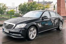 Mercedes testet automatisiertes Fahren
