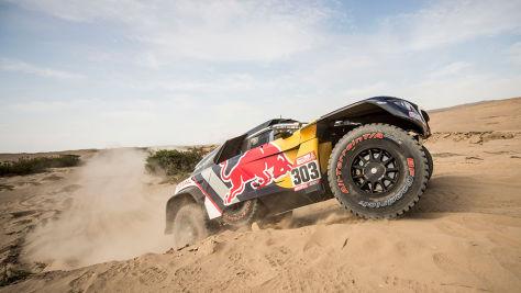 Rallye Dakar: Peterhansel holt auf