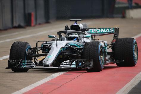 Formel 1: Mercedes 2018, Auto, technische Daten Leistung - autobild.de
