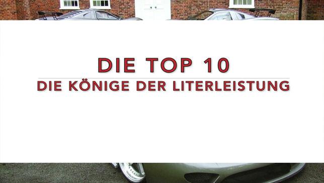 Top 10 der Könige der Literleistung