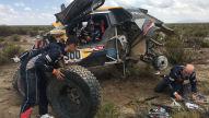 Rallye Dakar: Peterhansel mit Crash