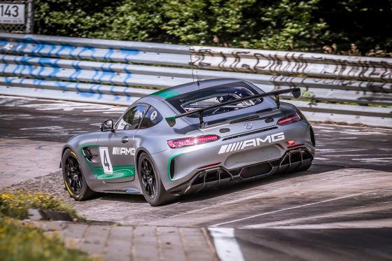 Mercedes-Power für die GT4-Klasse