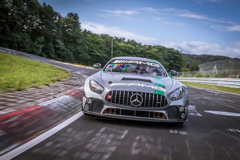 Mercedes: der neue GT4-Renner (2018)